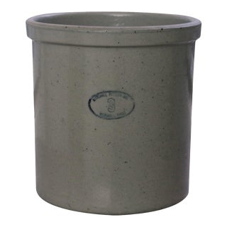 Earthenware Crock by Marshall Pottery, Texas
