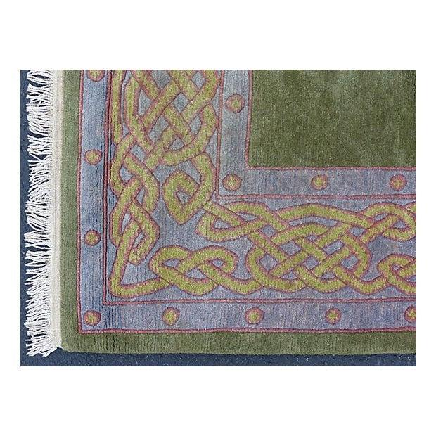 Nepalese Wool Rug- 6' x 9' - Image 6 of 11