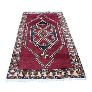 Turkish Handmade Bursa Rug - 3′6″ × 6′8″