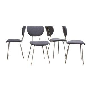 Kembo Wire Framed Chairs - Set of 4