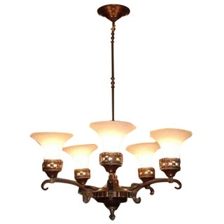 Restoration Hardware Chandelier Ceiling Lamp