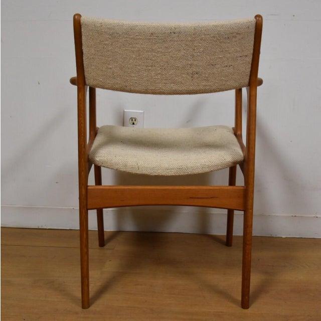 Mid-Century Teak Side Chair - Image 8 of 11