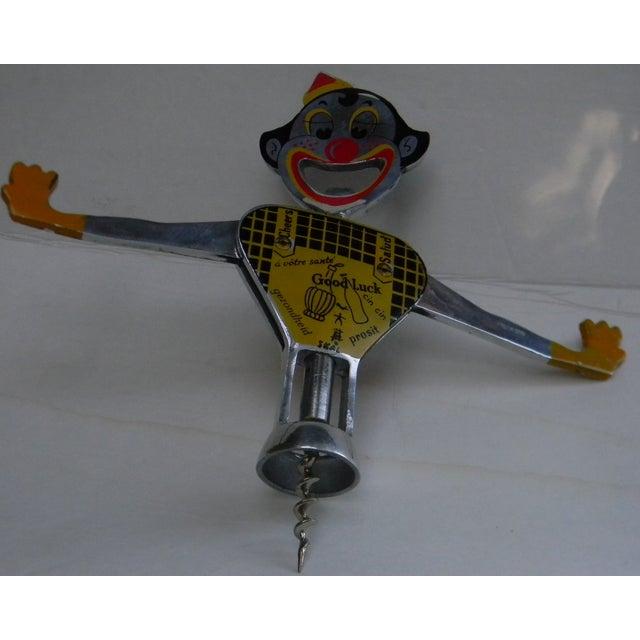 1950s Vintage Clown Corkscrew & Beer Bottle Opener - Image 9 of 10