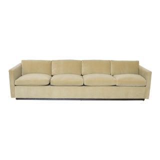 Contemporary Donghia Mohair Tuxedo Sofa