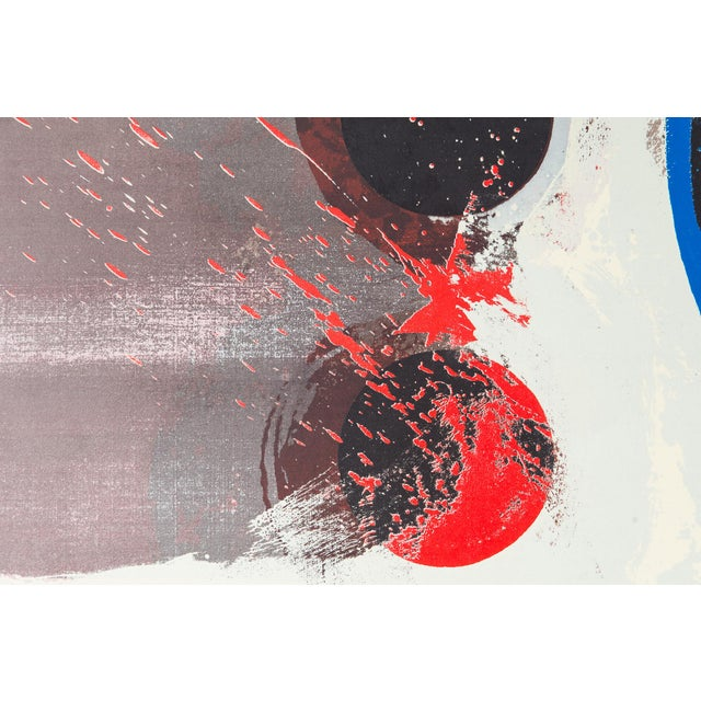 Image of Ra Smith 1960s Interstices Serigraph