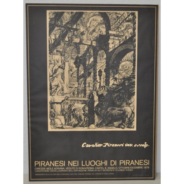Piranesi Italian Exhibition Poster - Image 3 of 5