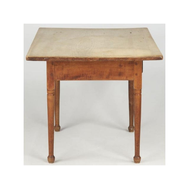 Antique American Pine Farm Table - Image 5 of 11
