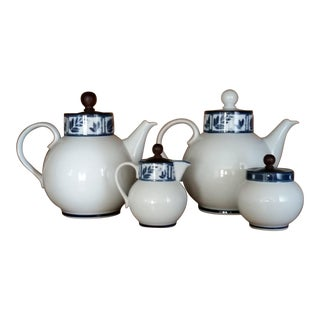 Dansk Ceylon Coffee & Tea Set - Set of 4