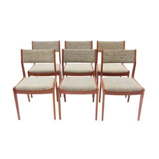 Scandinavian Danish Modern Teak Dining Chairs- S/6