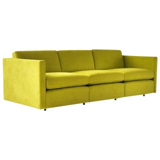Charles Pfister Three-Seat Sofa for Knoll