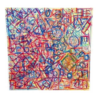 Optical Illusions Abstract Painting