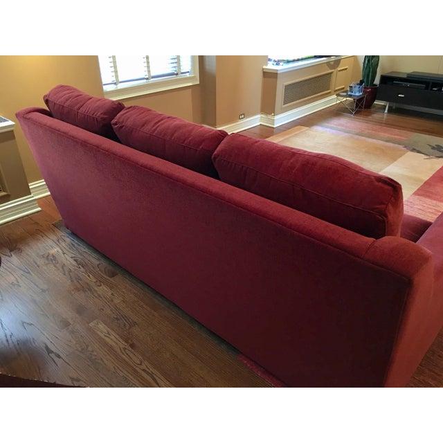 Dual Reclining Pindler Fabric Sofa - Image 7 of 7