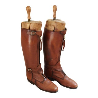 Custom Equestrian Riding Polo Leather Boots