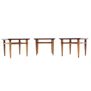 Set of Three Square End Tables
