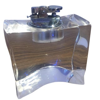 Vintage Lucite Table Lighter