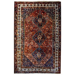 Outstanding Early 20th Century Ghashghaei Rug