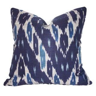"Designer Kim Salmela Ikat Down Pillow 20""x20"""