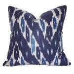 "Image of Designer Kim Salmela Ikat Down Pillow 20""x20"""