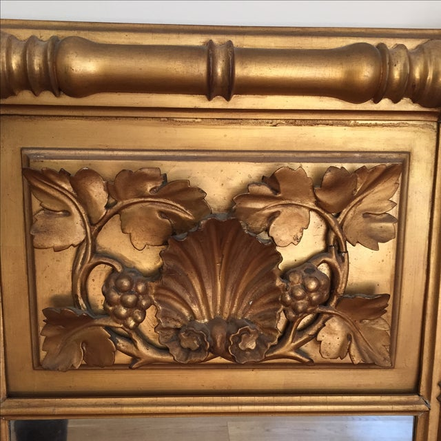 Empire Style Gilt Trumeau Mirror - Image 3 of 4