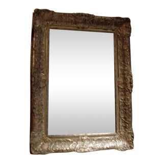 19th Century Giltwood Frame With New Mirror