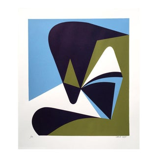 "2016 David Lloyd ""Abstraction #3"" Silkscreen"