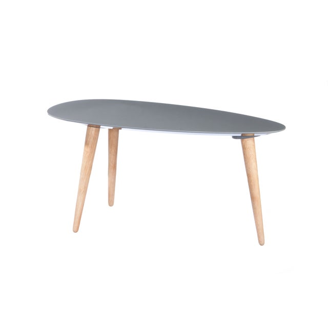 Image of Small Egg Table - Gray