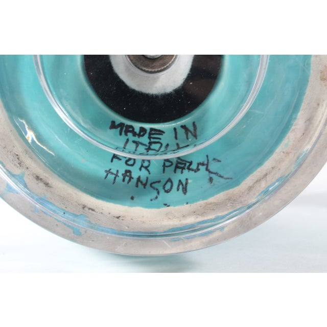 Paul Hansen Turquoise Ginger Jar Lamps - A Pair - Image 5 of 5