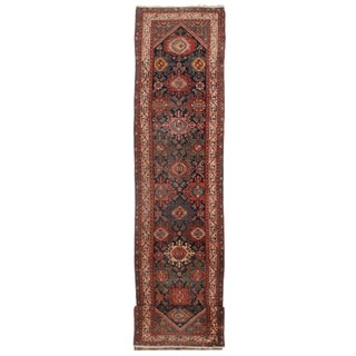 Antique Persian Malayer Runner - 3′ × 20′1″