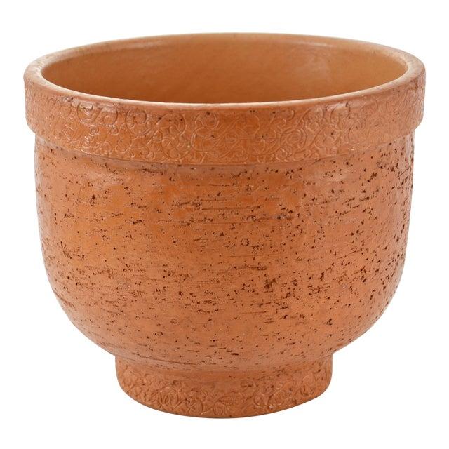 Italian Textured Terracotta Planter - Image 1 of 5