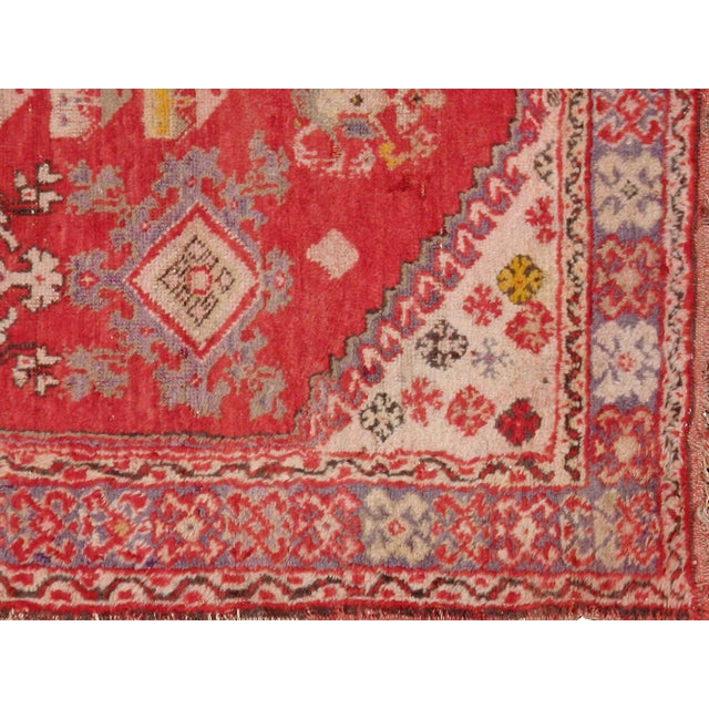 "Turkish Konya Vintage Rug - 3'5"" X 5'10"" - Image 3 of 3"