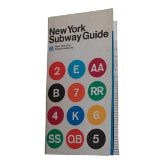 1974 Massimo Vignelli Subway Map