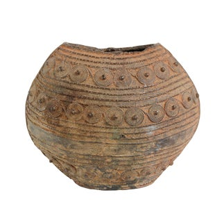 Benin Bronze Water Vessel