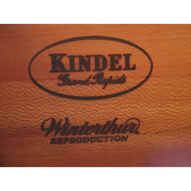 Kindel Winterthur Mahogany Goddard Secretary Desk - Image 11 of 11