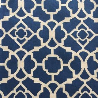 Waverly Lapis Lattice Textile
