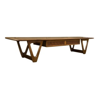 Lane Perception Coffee Table in Walnut