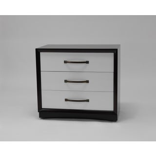 Pair of Dressers in Two-tone Lacquer by T.h. Robsjohn-gibbings