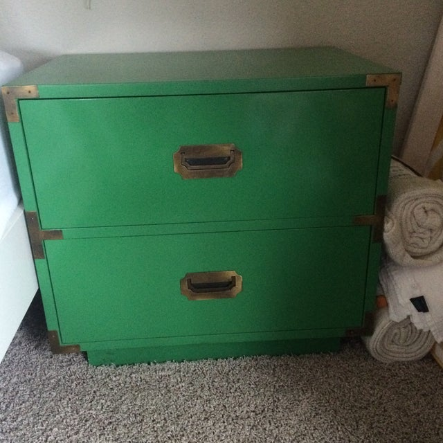 Dixie Campaign Nightstands - Pair of Two - Image 6 of 8