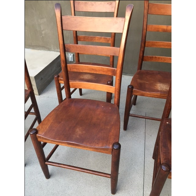 Nichols And Stone Chairs - Set of 6 - Image 3 of 8