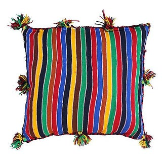 Moroccan Sham with Colorful Diamonds