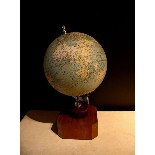 A Illuminated French Terrestial Globe - Image 3 of 8