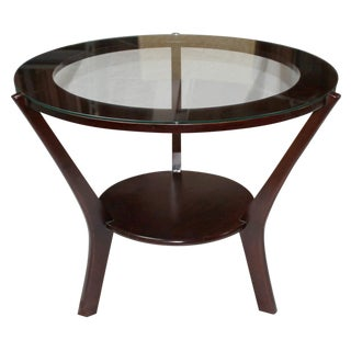 Round Mahogany Table