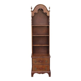 Tall Vintage Bookcase