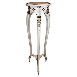 Rococo Style Painted Plant Stand