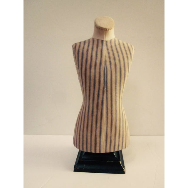 Antique French Miniature Dress Form Mannequin - Image 4 of 11