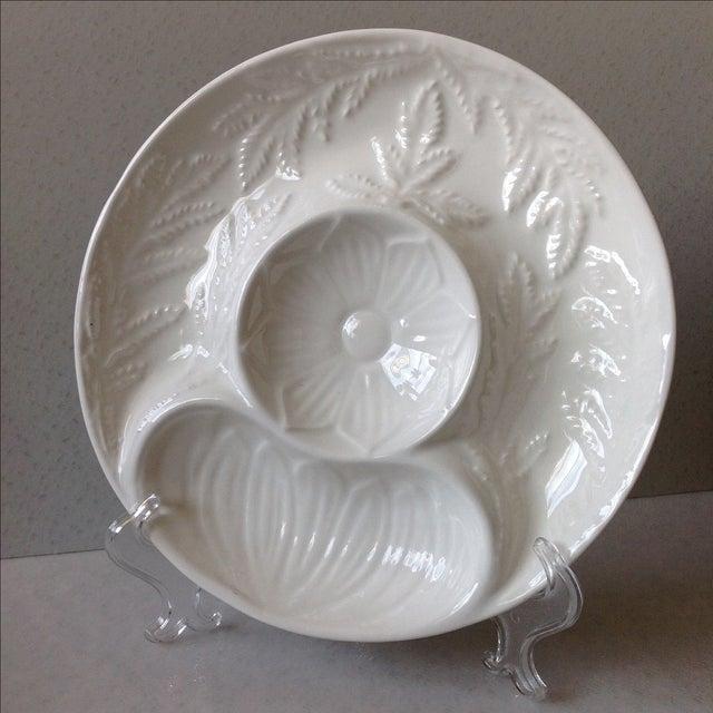 Image of California Pottery Artichoke Plates - Set of 6