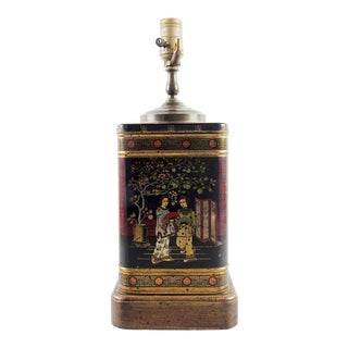 Wildwood Chinoiserie Tea Tin Table Lamp