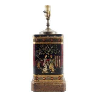Wildwood Chinoiserie Tea Tin Table Lamp