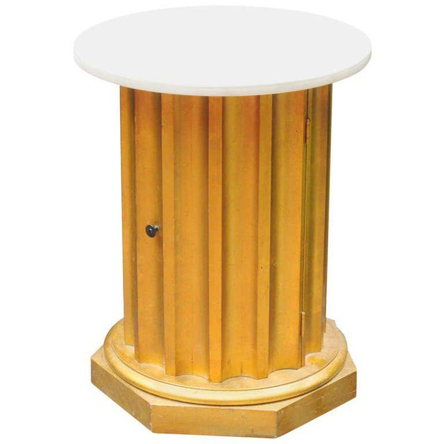 Marble Column Side Table - Image 11 of 11