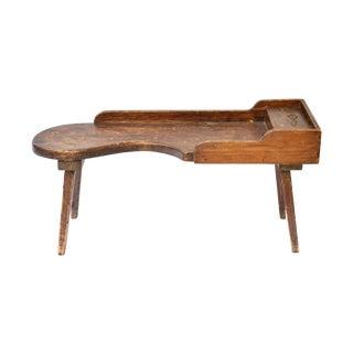 Primitive Wooden Cobbler's Bench