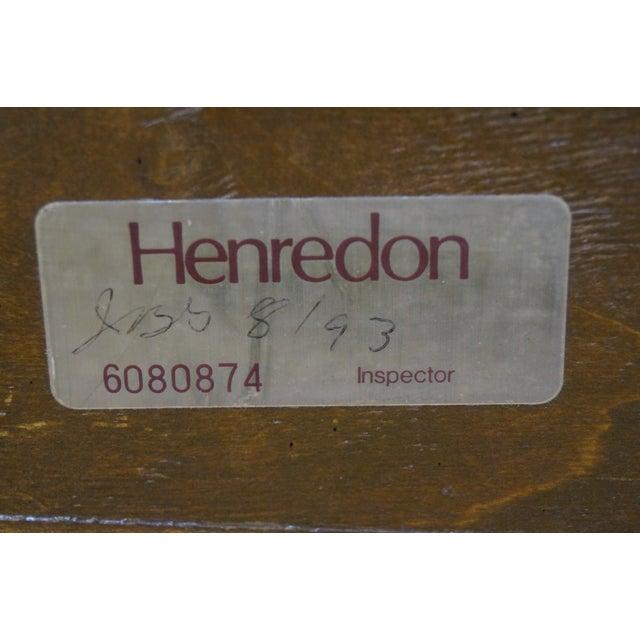 Henredon Charles X Burl Wood Sleigh Day Bed - Image 6 of 8